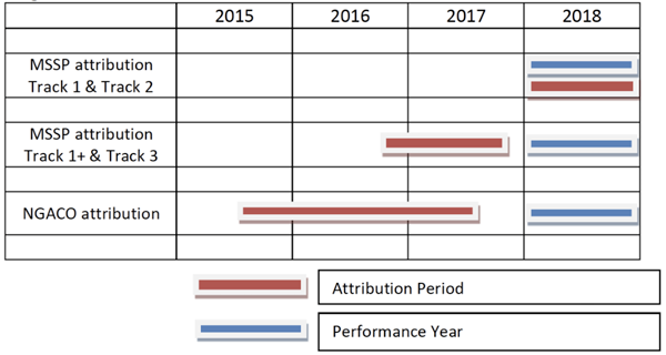 ACO Attribution Timeframes
